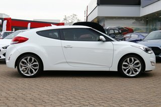 2014 Hyundai Veloster FS3 + White 6 Speed Auto Dual Clutch Coupe