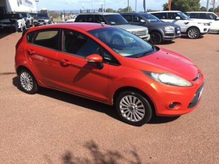 2013 Ford Fiesta WT CL Orange 6 Speed Automatic Hatchback.