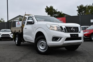 2018 Nissan Navara D23 S3 RX 4x2 White 6 Speed Manual Cab Chassis.