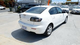2007 Mazda 3 BK10F2 Maxx Sport White 5 Speed Manual Sedan