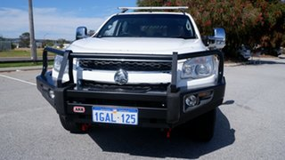 2015 Holden Colorado RG MY16 LTZ Crew Cab White 6 Speed Sports Automatic Utility