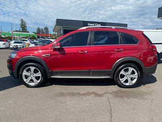2015 Holden Captiva CG MY15 7 AWD LTZ Burgundy 6 Speed Sports Automatic Wagon.