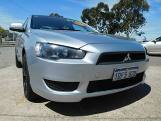 2009 Mitsubishi Lancer CJ MY09 ES Silver 6 Speed Constant Variable Sedan