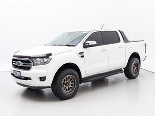 2019 Ford Ranger PX MkIII MY19.75 XLT 3.2 (4x4) White 6 Speed Manual Double Cab Pick Up.