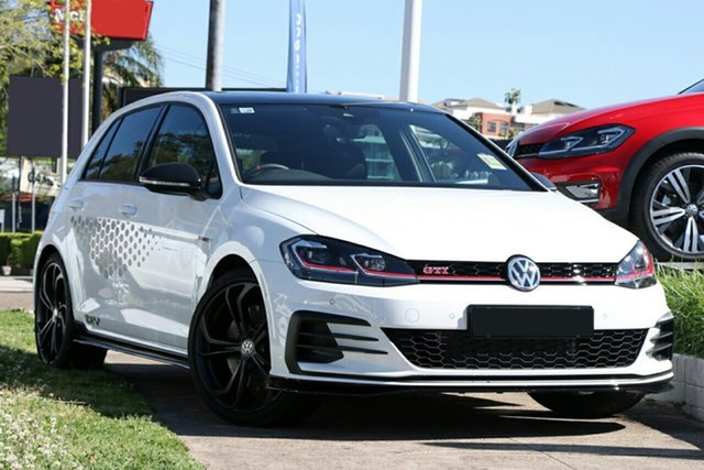 New Volkswagen Golf 7.5 MY20 GTI TCR DSG, 2020 Volkswagen Golf 7.5 MY20 GTI TCR DSG Pure White 6 Speed Sports Automatic Dual Clutch Hatchback