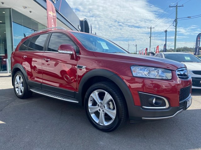 Used Holden Captiva CG MY15 7 AWD LTZ, 2015 Holden Captiva CG MY15 7 AWD LTZ Burgundy 6 Speed Sports Automatic Wagon