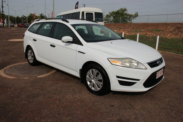Used Ford Mondeo MB MY11 LX PwrShift TDCi, 2010 Ford Mondeo MB MY11 LX PwrShift TDCi White 6 Speed Auto Wagon