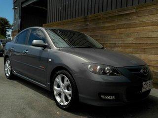 2008 Mazda 3 BK1032 SP23 Grey 5 Speed Sports Automatic Sedan.