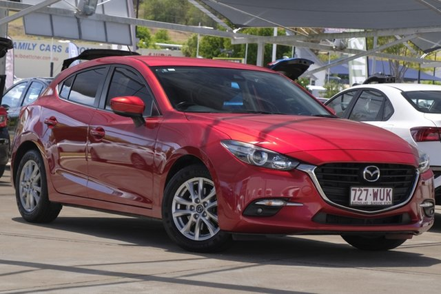 Used Mazda 3 BN5478 Maxx SKYACTIV-Drive, 2016 Mazda 3 BN5478 Maxx SKYACTIV-Drive Soul Red 6 Speed Sports Automatic Hatchback