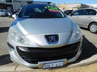 2009 Peugeot 308 T7 XS Touring Silver 6 Speed Manual Wagon.