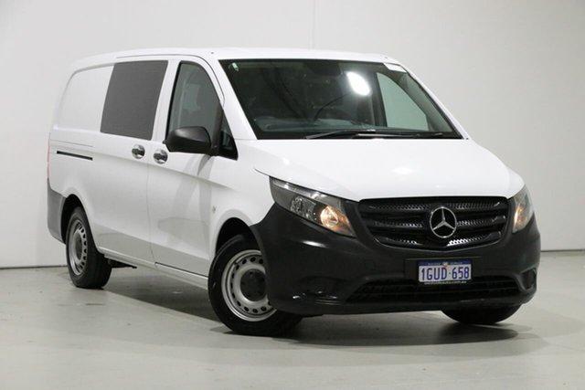 Used Mercedes-Benz Vito 447 114 BlueTEC SWB, 2015 Mercedes-Benz Vito 447 114 BlueTEC SWB White 7 Speed Automatic Van