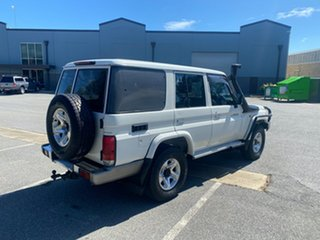 2008 Toyota Landcruiser VDJ76R GXL White 5 Speed Manual Wagon