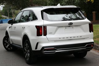 2020 Kia Sorento MQ4 MY21 Sport Snow White Pearl 8 Speed Sports Automatic Wagon.