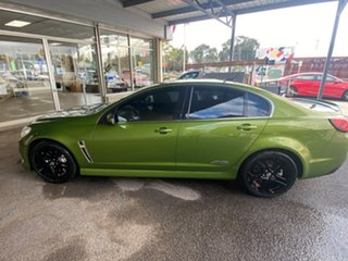 2015 Holden Commodore VF MY15 SS V Redline Green 6 Speed Sports Automatic Sedan