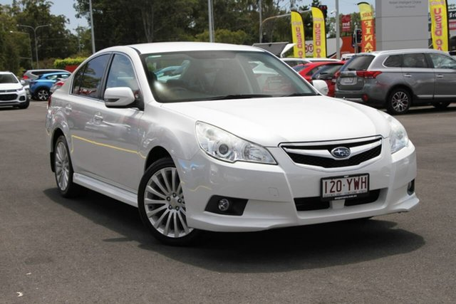 Used Subaru Liberty B5 MY11 2.5i Lineartronic AWD Aspley, 2011 Subaru Liberty B5 MY11 2.5i Lineartronic AWD Pearl White 6 Speed Constant Variable Sedan