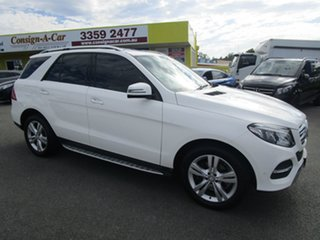 2016 Mercedes-Benz GLE-Class W166 807MY GLE250 d 9G-Tronic 4MATIC White 9 Speed Sports Automatic.