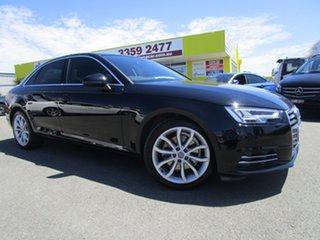 2017 Audi A4 B9 8W MY17 Sport S Tronic Black 7 Speed Sports Automatic Dual Clutch Sedan