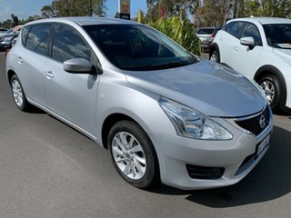 2014 Nissan Pulsar C12 ST Silver 1 Speed Constant Variable Hatchback