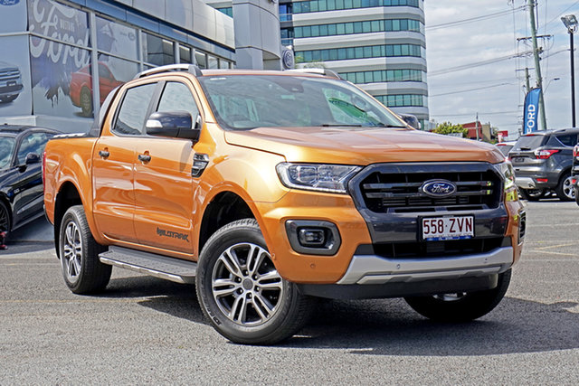 Used Ford Ranger PX MkIII 2020.25MY Wildtrak, 2020 Ford Ranger PX MkIII 2020.25MY Wildtrak Saber 10 Speed Sports Automatic Double Cab Pick Up