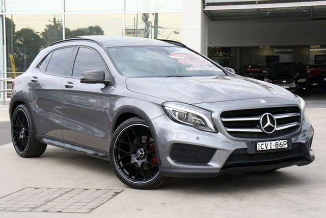 Used Mercedes-Benz GLA-Class X156 GLA250 DCT 4MATIC, 2014 Mercedes-Benz GLA-Class X156 GLA250 DCT 4MATIC Mountain Grey 7 Speed