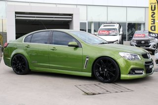 2015 Holden Commodore VF MY15 SS V Jungle Green 6 Speed Sports Automatic Sedan.