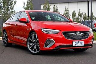 2019 Holden Commodore Red Liftback.