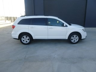 2013 Fiat Freemont JF Urban White Manual Wagon.