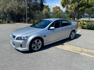 2009 Holden Commodore VE MY10 SV6 Silver 6 Speed Sports Automatic Sedan.