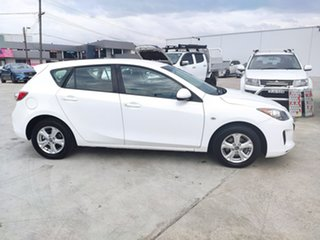 2013 Mazda 3 BM5476 Neo SKYACTIV-MT White 6 Speed Manual Hatchback.