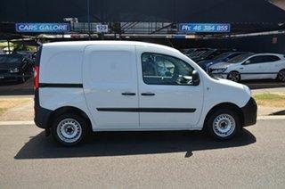 2013 Renault Kangoo X61 1.6 SWB White 5 Speed Manual Van.