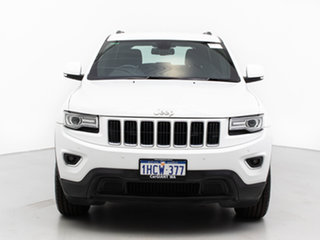 2014 Jeep Grand Cherokee WK MY14 Laredo (4x2) White 8 Speed Automatic Wagon.