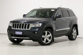2012 Jeep Grand Cherokee WK MY13 Limited (4x4) Grey 5 Speed Automatic Wagon.