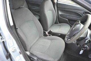 2014 Mitsubishi Mirage LA ES Silver Continuous Variable Sedan