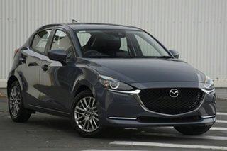 2020 Mazda 2 DJ2HAA G15 SKYACTIV-Drive Evolve Machine Grey 6 Speed Sports Automatic Hatchback.