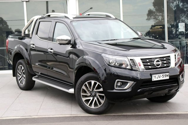 Demo Nissan Navara D23 S4 MY19 ST-X, 2019 Nissan Navara D23 S4 MY19 ST-X Cosmic Black 7 Speed Sports Automatic Utility