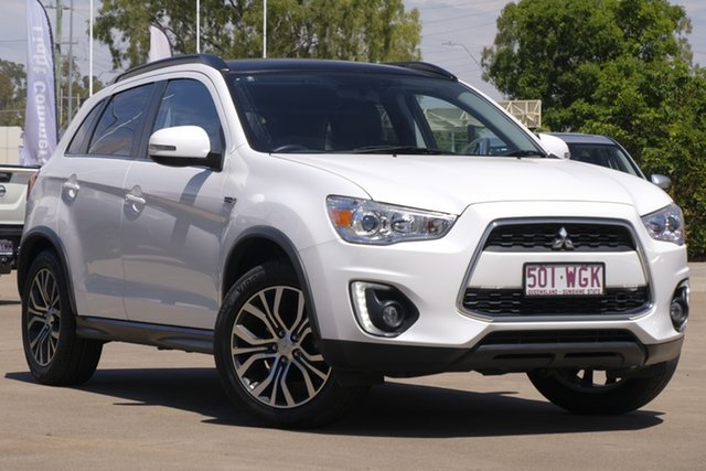 Used Mitsubishi ASX XB MY15.5 XLS 2WD, 2015 Mitsubishi ASX XB MY15.5 XLS 2WD White 6 Speed Constant Variable Wagon