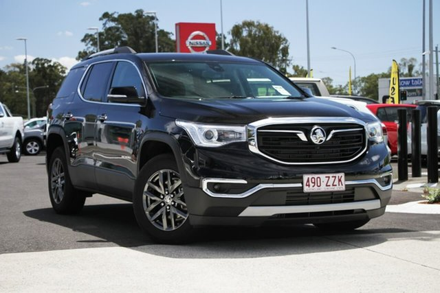 Used Holden Acadia AC MY19 LTZ 2WD, 2019 Holden Acadia AC MY19 LTZ 2WD Mineral Black 9 Speed Sports Automatic Wagon