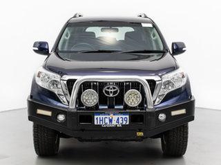 2015 Toyota Landcruiser Prado KDJ150R MY14 GXL (4x4) Blue 5 Speed Sequential Auto Wagon.