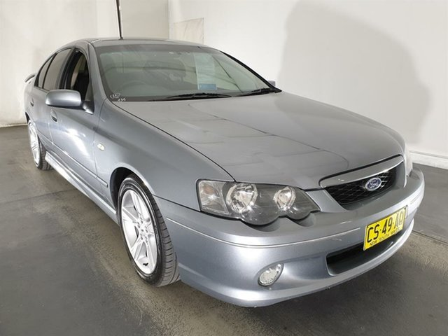 Used Ford Falcon BA Mk II XR6, 2005 Ford Falcon BA Mk II XR6 Grey 4 Speed Sports Automatic Sedan