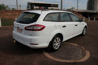 2010 Ford Mondeo MB MY11 LX PwrShift TDCi White 6 Speed Auto Wagon
