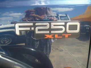 2004 Ford F250 RN XLT Blue 4 Speed Automatic Utility