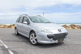 2007 Peugeot 307 T6 XS HDi Touring Silver 5 Speed Manual Wagon.