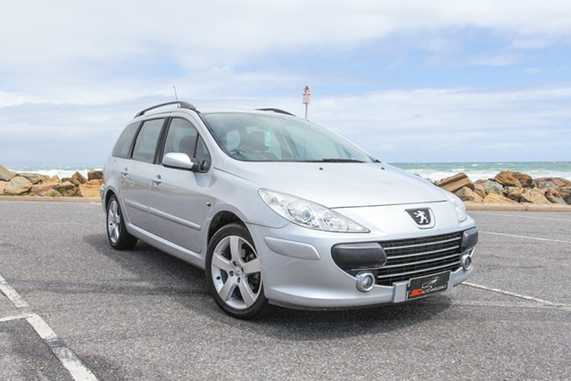Used Peugeot 307 T6 XS HDi Touring Lonsdale, 2007 Peugeot 307 T6 XS HDi Touring Silver 5 Speed Manual Wagon