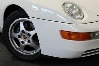 1994 Porsche 968 White 6 Speed Manual Coupe.