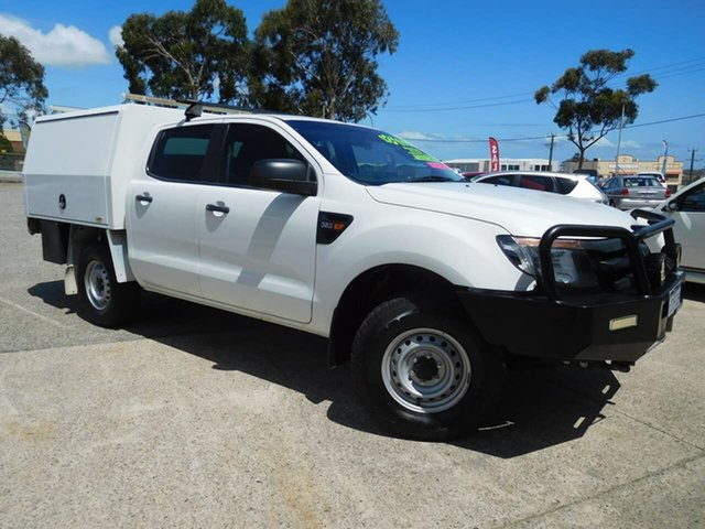 Used Ford Ranger PX MkII XL, 2015 Ford Ranger PX MkII XL White 6 Speed Manual Cab Chassis