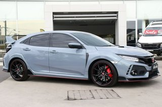 2018 Honda Civic 10th Gen MY18 Type R Sonic Grey 6 Speed Manual Hatchback.