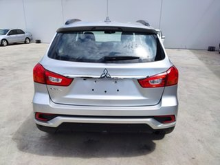 2018 Mitsubishi ASX XC MY19 ES 2WD ADAS Silver 1 Speed Constant Variable Wagon