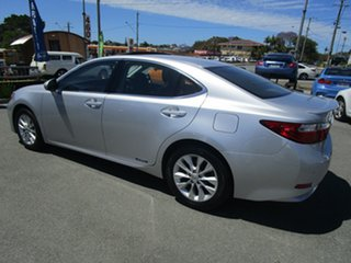 2013 Lexus ES AVV60R ES300h Sports Luxury Silver 1 Speed Constant Variable Sedan Hybrid