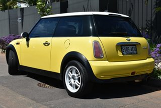 2004 Mini Hatch R50 MY03 Cooper Yellow 6 Speed Constant Variable Hatchback.