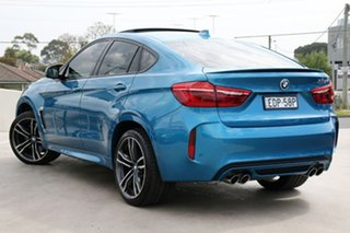 2019 BMW X6 M F86 Coupe Steptronic Long Beach Blue 8 Speed Sports Automatic Wagon.
